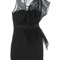 Charlotte Ronson Women Black Cocktail Dress 0 Photo