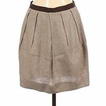 Charlotte Ronson Women Brown Casual Skirt S Photo