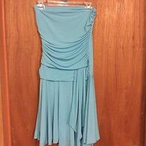 Charlotte Russe Baby Blue Dress Size M  Photo