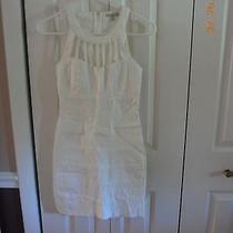 Charlotte Russe Beautiful White Dress Size Medium   Photo