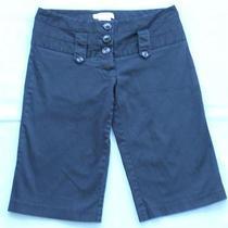 Charlotte Russe  Black Bermuda Style Dress Shorts  Nice  Size 5 Photo