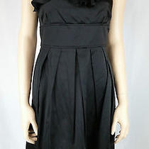 Charlotte Russe Black Formal Dress Size 9/10 Short Zips Up Back Very Cute Photo