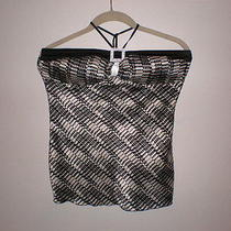 Charlotte Russe Black Halter. Size Small Gently Worn Photo