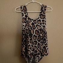 Charlotte Russe Cheeta Hi Low Top Size M Photo
