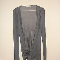 Charlotte Russe Gray Solid Coverup Top Worn Only Once M Photo