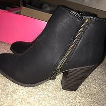 Charlotte Russe Heel Ankle Booties Size 6 Photo