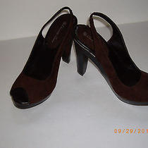 Charlotte Russe High Heel Shoes-Size 8-Color Brown-New Photo