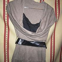 Charlotte Russe Ladies Top With Belt Size Small Multicolor Photo
