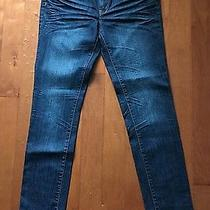 Charlotte Russe- Low Rise Dark Wash Skinny Jeans- Size Regular 10-New With Tags Photo