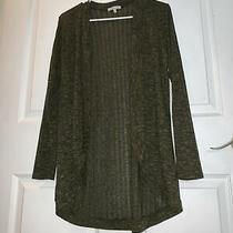 Charlotte Russe Olive Green Cardigan Size Small Photo