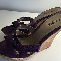 Charlotte Russe Purple Wedge Photo