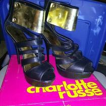 Charlotte Russe Woman High Heels Shoes Size 10 Photo