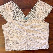 Charlotte Russe Women Beautiful Crop Top-Size L  Photo