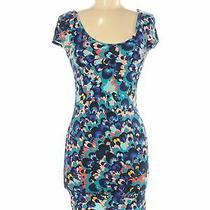 Charlotte Russe Women Blue Casual Dress M Photo