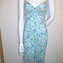 Charlotte Russe Women's Aqua Spaghetti Straps Dress Summer Dress Sz. Medium Photo