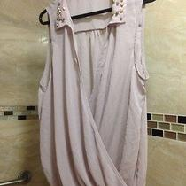 Charlotte Russe Womens See Through Blouse Summer Size Xl Great... Photo