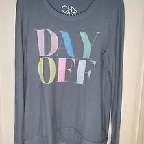 Chaser Day Off Sweatshirt Blue Size L Photo