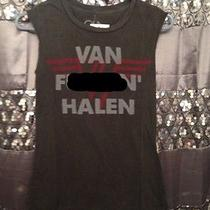 Chaser Ladies Rock Band Muscle Tee Van F Halen Small Black Sold Out Nwt Photo