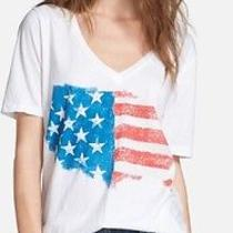 Chaser Painted Flag v-Neck Tee- Xs Photo