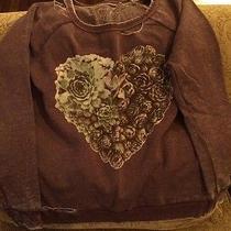 Chaser Succulent Heart Deconstructed Sweatshirt Photo