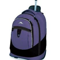 Chaser Wheeled Book Bag Purple Photo