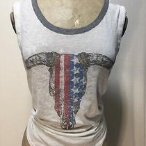 Chaser. Women's White Tank Top. Sz.  Xs Photo