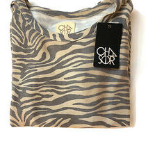 Chaser  Womens Animal Print Pullover Sweatshirt   Large   New  Photo