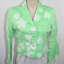 Cheap and Chic by Moschino Vintage Lime Blazer Jacket Vintage Size 10 Italy  Photo