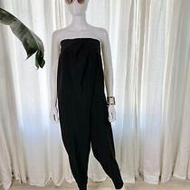 Cheap Monday (Founded in Sweden) Black Strapless Jumpsuit Size Medium Photo