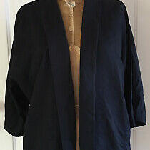 Cheap Monday Hang Jacket Blazer Black Oversized Japanese Kimono Style Womens Xs Photo