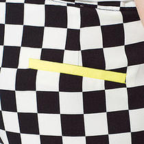 Checkerboard Printed Shorts Photo