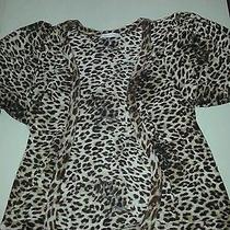 Cheetah Print Cardign Photo