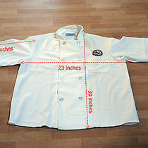 Chef Jacket Double-Breasted Coat Shirt Medium Size Kitchen Basix by Pinnacle Photo