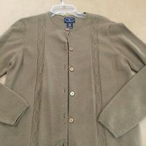 Chelsea Campbell Women's Sweater Brown Size Medium Photo