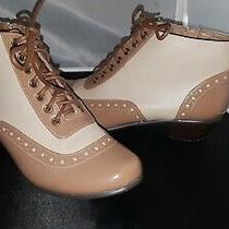 Chelsea Crew Lace-Up Boots for Anthropologie Size 37 6 Photo