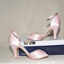 Chelsea Crew Lola Pink-Satin Sz 7 Modcloth