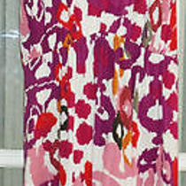 Chelsea & Theodore Stretchy Bright Colors Floral Sleeveless Rayon Sundress (S) Photo
