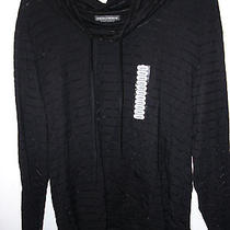 Chelsea & Theodore Women's Black Nwt Large See Through Top Ladies  Photo
