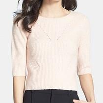 Chelsea28 New Pink Blush Women's Small S Fluffy Crewneck Sweater 68 668 Deal Photo