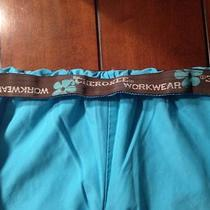 Cherokee Workwear Aqua/turquoise Scrub Pants Size Medium Photo