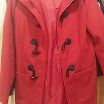 Cherry Red Peacoat Photo