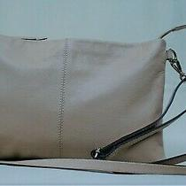 Chic Carpisa Blush Leather Envelope Clutch Shoulder Handbag Photo