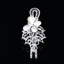 Chic Womens Elegant Crystal Hairclip Hairpin Clips Hairband Shine Holder Gift Photo