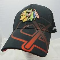 Chicago Blackhawks Nhl Hockey Baseball Cap Hat Adjustable Flex Reebok Photo