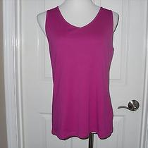 Chico's Nwt Auden Tank Top Size 2 (12-14) Bengali Photo