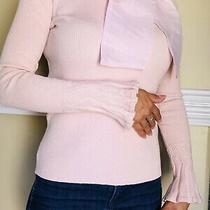 Chicwish Womens Blush Pink Sweater/top Size S/m Photo