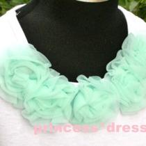 Chiffon Rosettes Flower for Pettiskirt Headband Hat Top Photo