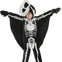 Child Pteradactyl Dinosaur Skeleton Fossil Halloween Costume 4-6 Ur26246 Photo