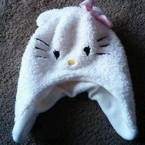 Child's Hello Kitty Winter Hat Face and Ears Photo
