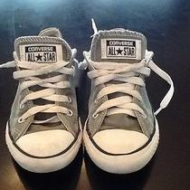 Child/youth Sz 12 Low Top Light Green Converse Photo